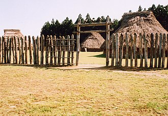 Akita, Akita - Thatched roof in Jizōden Archaeological Park