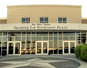 Galveston County, Texas - The Joe Max Taylor Galveston Law Enforcement Facility includes the main station of the Galveston County Sheriff's Office