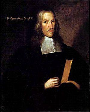 Johannes Andreas Quenstedt - Portrait of Johann Andreas Quenstedt