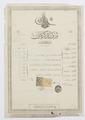 Johanna Kempes pass, Turkiet 1901 - Hallwylska museet - 102472.tif