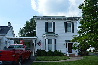 John Bell Hood - Hood's birthplace