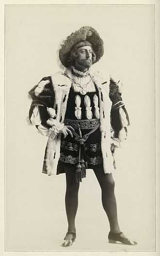 Love's Labour's Lost - A photograph of John Drew as the King of Navarre in Augustin Daly's production.