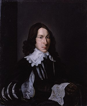 John Evelyn - Portrait of John Evelyn by Hendrik van der Borcht II, 1641