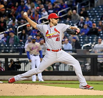 John Lackey - Lackey pitching for the St. Louis Cardinals in 2015
