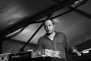 John Medeski performing with Medeski Martin Sc...