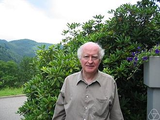 John N. Mather - Mather at Oberwolfach in 2005