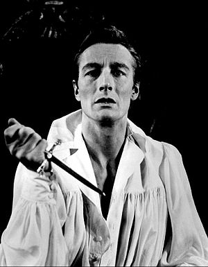 John Neville (actor) - Neville as Hamlet (1959)