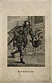 John Smith, known as Buckhorse, a pugilist. Etching. Wellcome V0007317.jpg