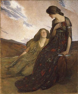 John White Alexander - Image: John White Alexander, Memories, 1903