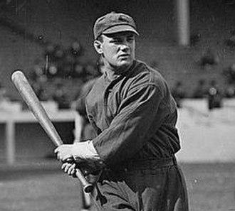 Johnny Bates (baseball) - Bates in 1913