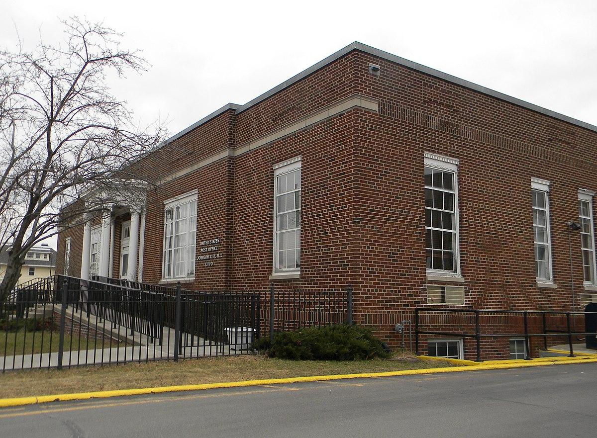 Johnson City Post Office Main St
