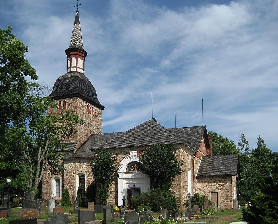 Jomala church 2 retouched