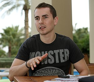 2015 MotoGP season - Jorge Lorenzo won his third MotoGP world title, and fifth world title overall, by winning the final race of the season in Valencia.