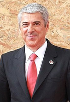 José Socrates cropped from Dmitry Medvedev in Portugal 20 November 2010-2 (cropped)