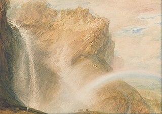 Upper Fall of the Reichenbach- Rainbow