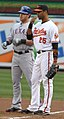 Josh Hamilton and Derrek Lee 2011.jpg