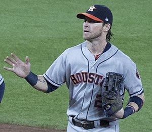 Josh Reddick - Reddick with the Astros in 2017