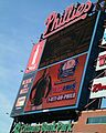Jumbotron at Citizens Bank Park (2371197955).jpg