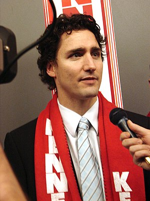Justin Trudeau at the 2006 Liberal leadership ...