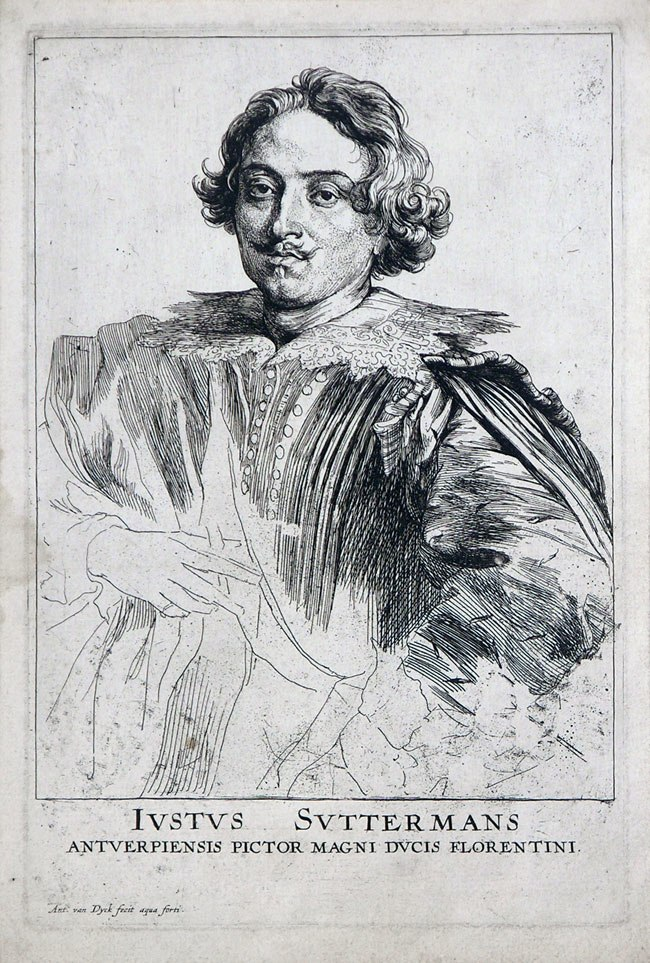 Justus Sustermans by van dyck