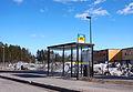Jyväskylä bus stop on Laukaantie.jpg