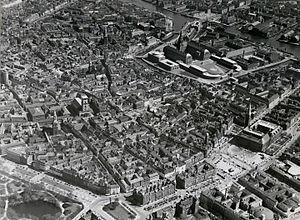 København fra luften Dmr topkbh k 07121