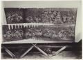KITLV - 3959 - Kurkdjian, Ohannes - Wayang beber scrolls at Patjitan - circa 1880.tif