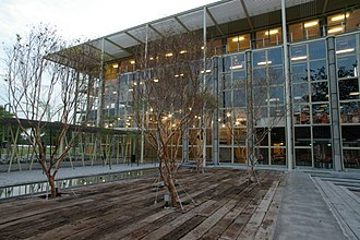Kuala Lumpur Performing Arts Centre - Image: KLPAC, Boardwalk Fronting