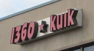 KUIK - Image: KUIK sign