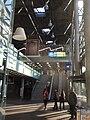 Kaŭna Flughaveno (Kauno oro uostas) enira halo.jpg