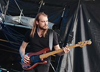 Kadavar (German Psychedelic Rock Band) (Krach Am Bach 2013) IMGP8844 smial wp.jpg