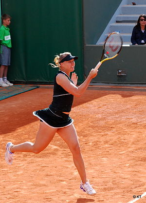 Sport in Estonia - Kaia Kanepi at the 2011 French Open