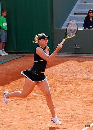 Kaia Kanepi - Kanepi at the 2011 French Open