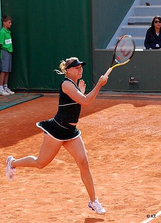 Sport in Estonia - Kaia Kanepi at the 2011 French Open