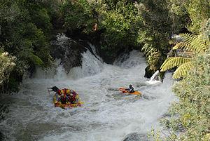 Kaituna River - Image: Kaituna River Rafting 16
