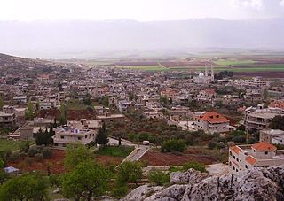 Kamid al lawz City in Beqaa Governorate, Lebanon