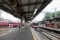 Kanagawa-Shinmachi Station platforms - june 14 2015.jpg