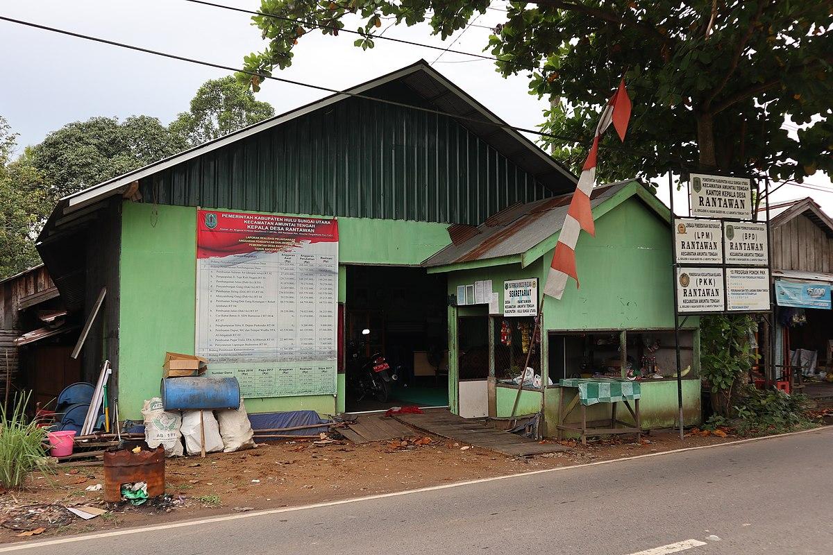 File:Kantor Desa Rantawan, Hulu Sungai Utara.JPG ...