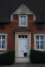 Kapellen - woning, dubbelhuis (voordeur)
