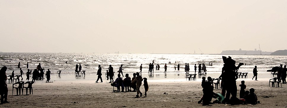 Karachi beach panorama