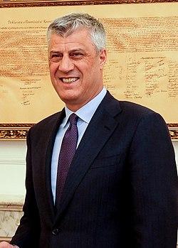 Karin Kneissl trifft Kosovos Präsident Hashim Thaci (cropped).jpg