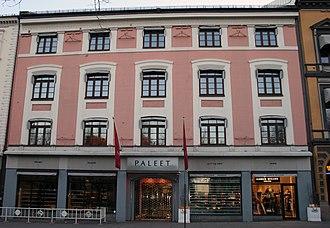 Thøger Binneballe - Image: Karl Johans gate 39