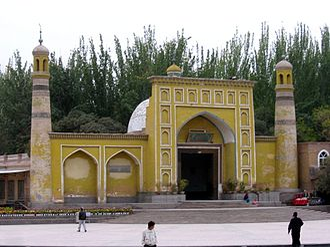 Id Kah Mosque - Image: Kashgar mezquita id kah d 01