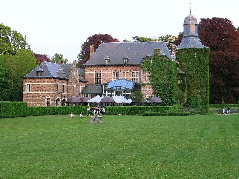 Castle of Rullingen in Kuttekoven, Borgloon, Belgium