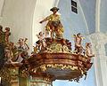 Kath, Pfarrkirche Außerteuchen, Kanzel.jpg