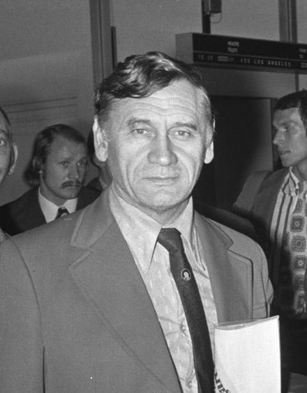 Kazimierz Gorski, Head Coach of the National Team between 1971 and 1976. Kazimierz Gorski (1973).jpg