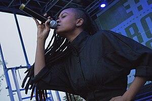 Kelela - Kelela performing in April 2014
