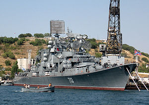 Kara class cruiser Kerch