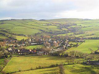 Kettleshulme Human settlement in England
