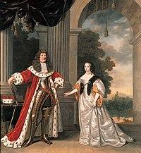 Keurvorst Frederik Willem I en Louise Henriëtte van Oranje